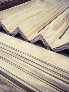 Accoya pilasters and frames