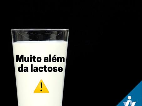 O problema pode não ser só a lactose