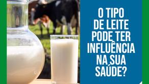 O tipo de leite pode ter influência na sua saúde?