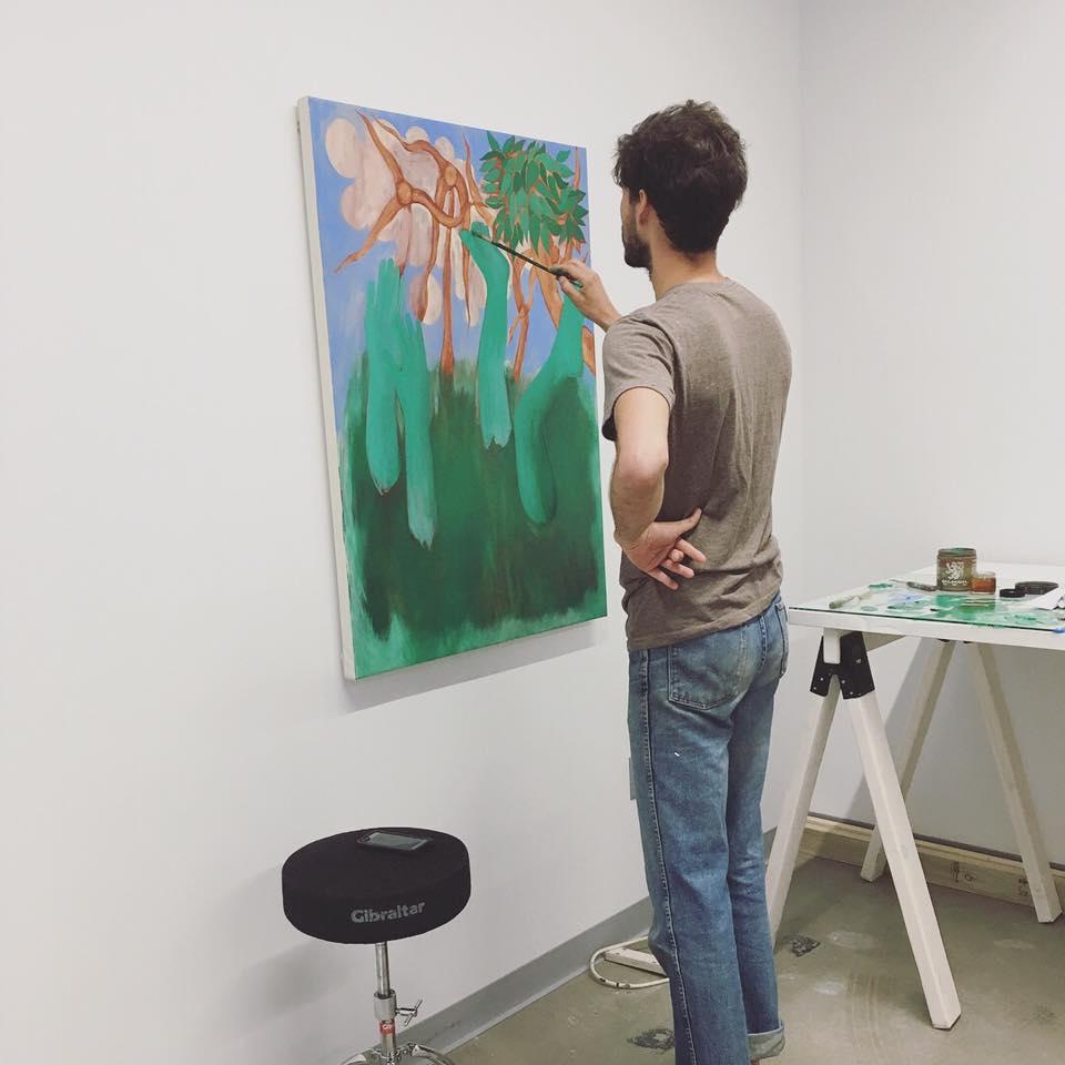 美福艺术中心艺术家创作