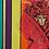 """Thumbnail: 82x67cm, Akryl på duk, """"Röd Venedig"""""""