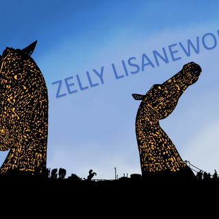 Kelpies Evening