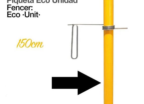 PASTOR: PIQUETA ECO 150cm UNIDAD