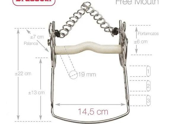 BOCADO FELIX BRASSEUR MOVIBLE 004H01 14.5cm