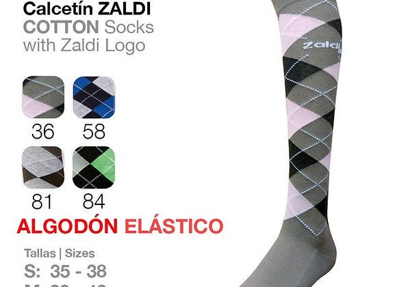 CALCETÍN ZALDI ALGODÓN ELÁSTICO DIAMOND
