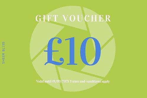 Gift Voucher: £10