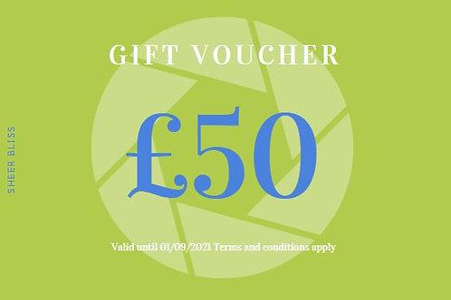 Gift Voucher: £50