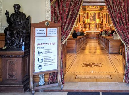 Public Masses resume at Canons Regular Parishes