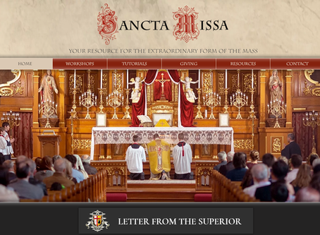 Online Resource for Extraordinary Form of the Mass Revamped