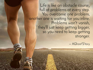 Life is an Obstacle Course