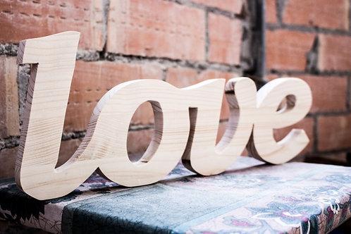 "Фото слово ""Love"""