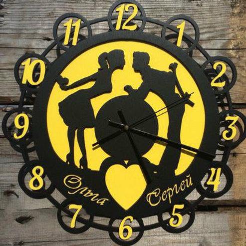 """Часы """"Люблю"""""""