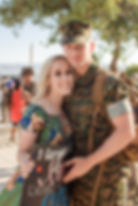 Military Homecoming - Twentynine Palms Photographer - Krystal Rose Photography