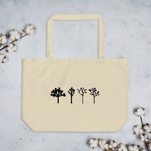 Joshua Tree Large Organic Tote Bag