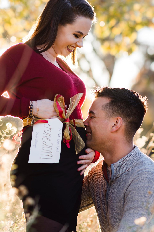 Twentynine Palms Photographer | Joshua Tree Photographer | Baby Announcement