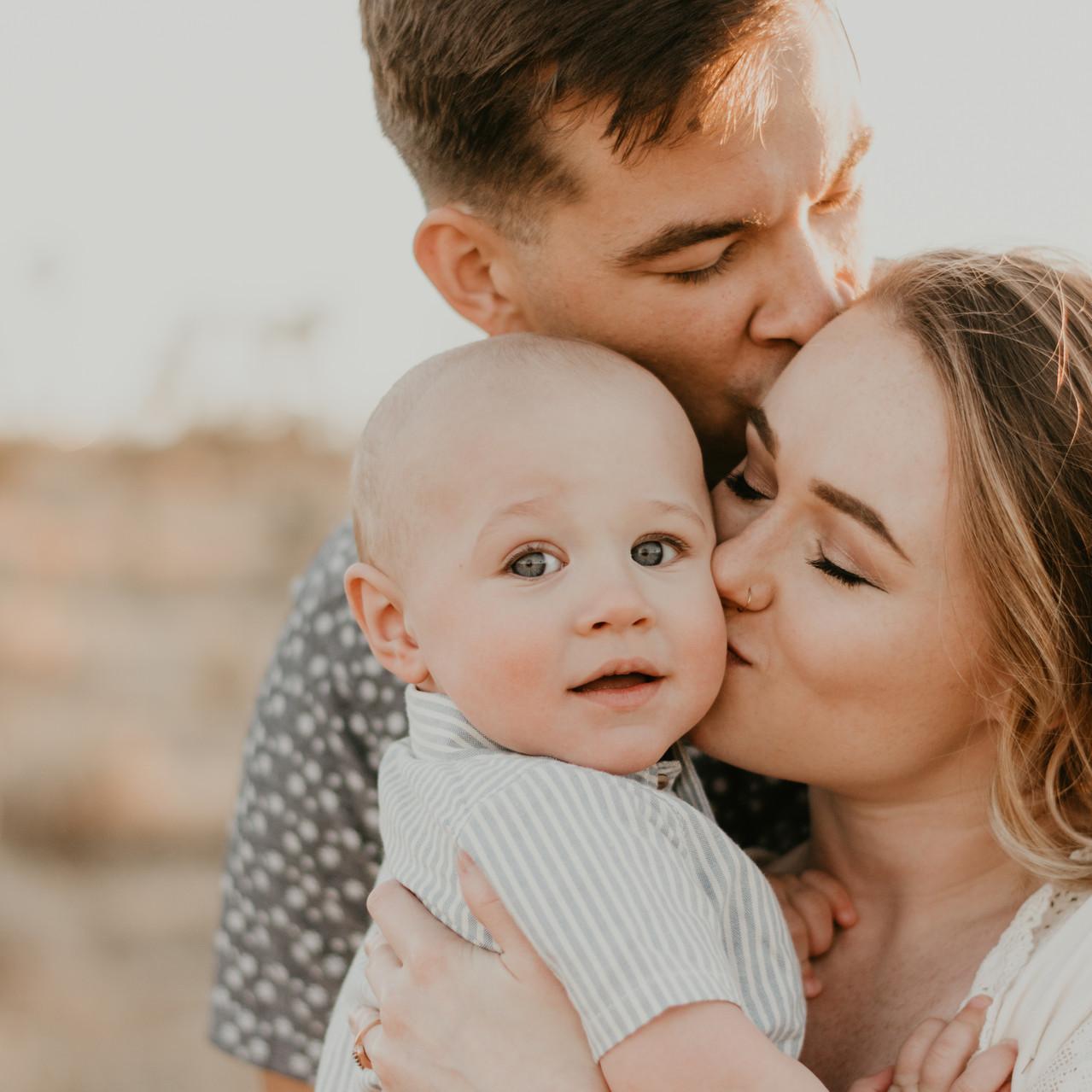 Joshua Tree Family Photo Session