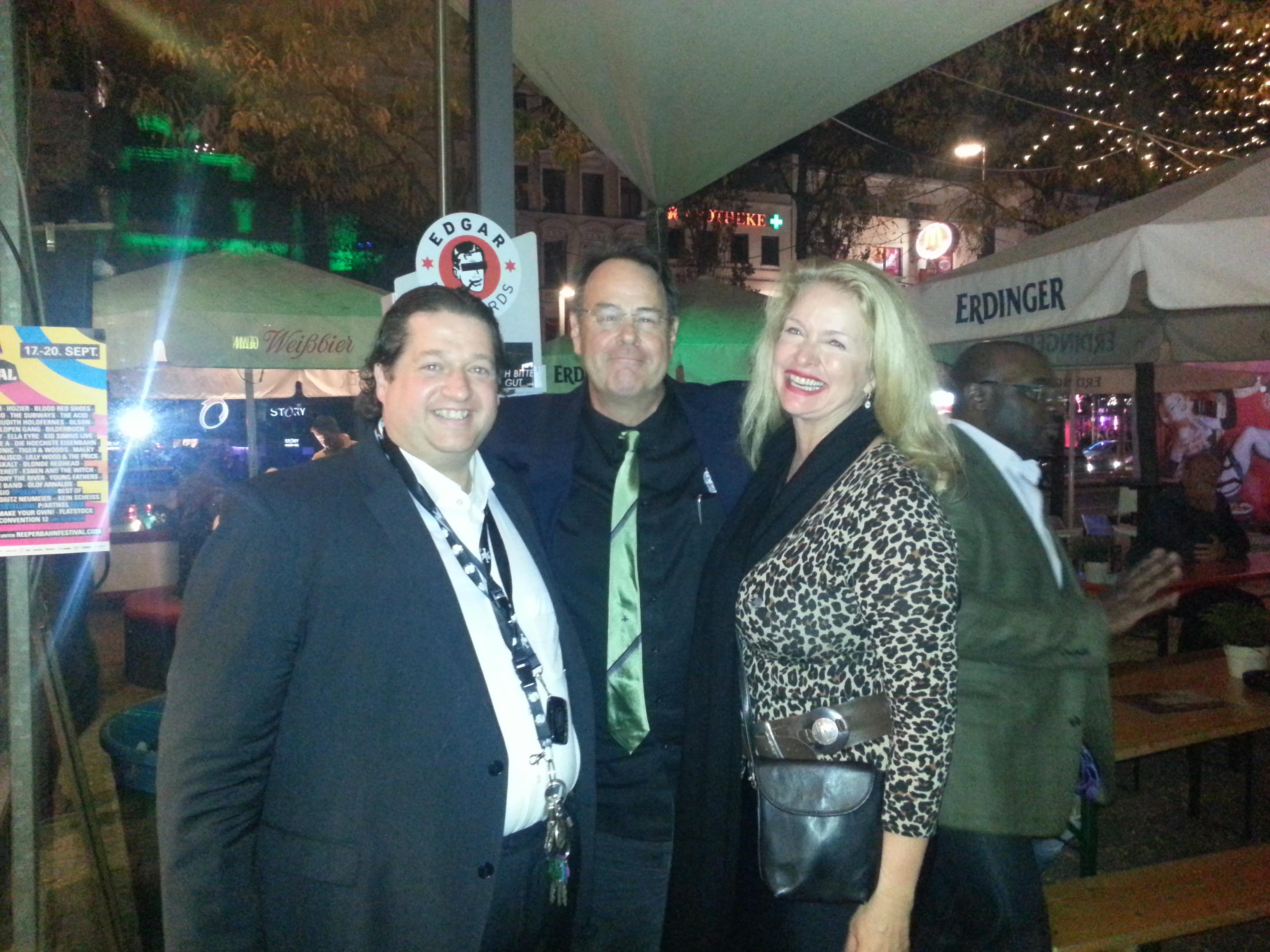 Dan Aykroyd mit Frau & C. Wilson