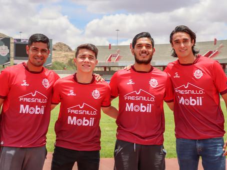 Durán, Plascencia, Robles y Blanco presentados de manera oficial