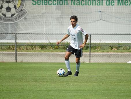 Yaro Martínez convocado de nuevo al TRI Sub 15