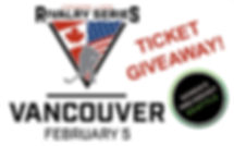 Rivalry Series Vancouver Ticket Giveaway
