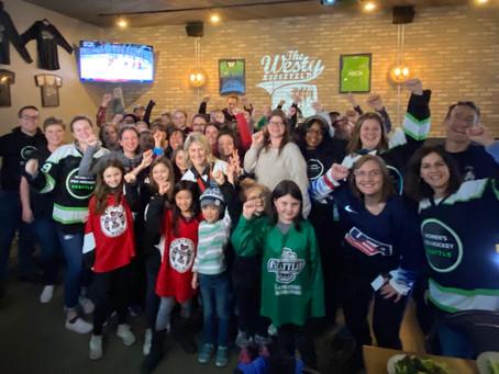 Rivalry Series Fun with WoProHoSeattle Fans