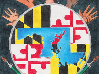 Congratulations to the Youth Art Month (YAM) Maryland Flag Winners!