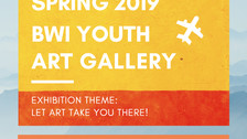 Call for Student Artwork - Spring 2019 BWI Youth Art Gallery