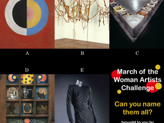 March of the Women Artists Challenge