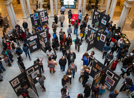 Over 100 Maryland Students participate in Walters Museum Student Showcase