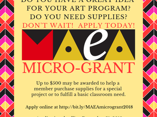 Apply for the MAEA 2019 Micro-Grant