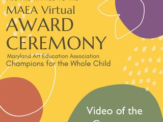 MAEA 2021 Award Ceremony Video