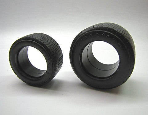 Tamiya Ferrari 312B Replacement Tires