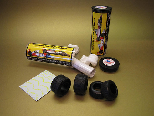 "1993 Wingfoot Asym. Rain Conversion Tires - Ayrton Senna ""Lap of the Gods"""