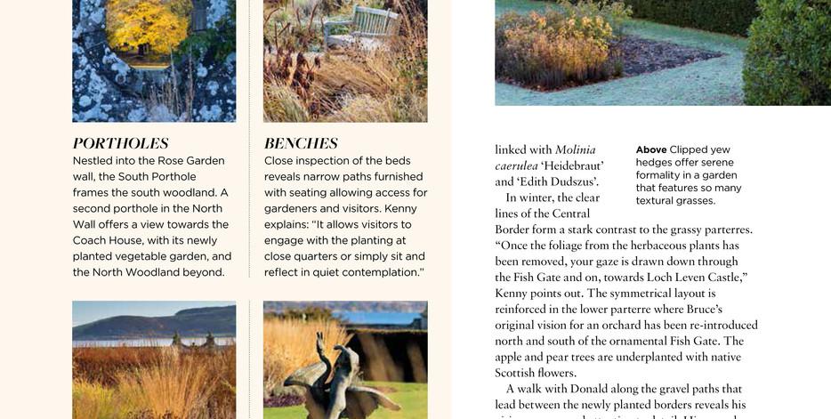 Kinross House Garden, designed by Alistair Baldwin, The English Garden Magazine, Page 4