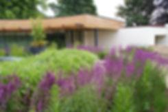 Contemporary, modern roof garden in Yorkshie, designed by Allistair Baldwin