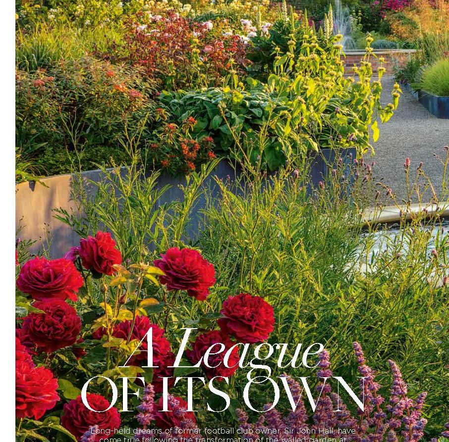 Wynyard Hall Rose Garden, designed by Alistair Baldwin, The English Garden Magazine, Page 1