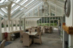Inside view of the new potting shed at Bowcliffe Hall