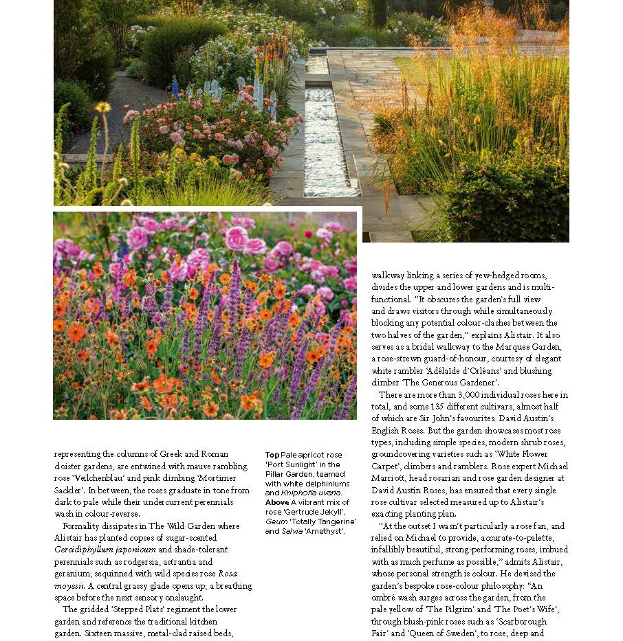 Wynyard Hall Rose Garden, designed by Alistair Baldwin, The English Garden Magazine, Page 6