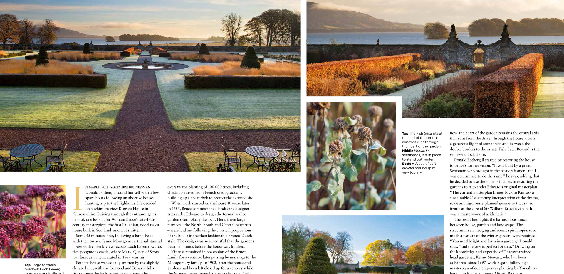 Kinross House Garden, designed by Alistair Baldwin, The English Garden Magazine, Page 2