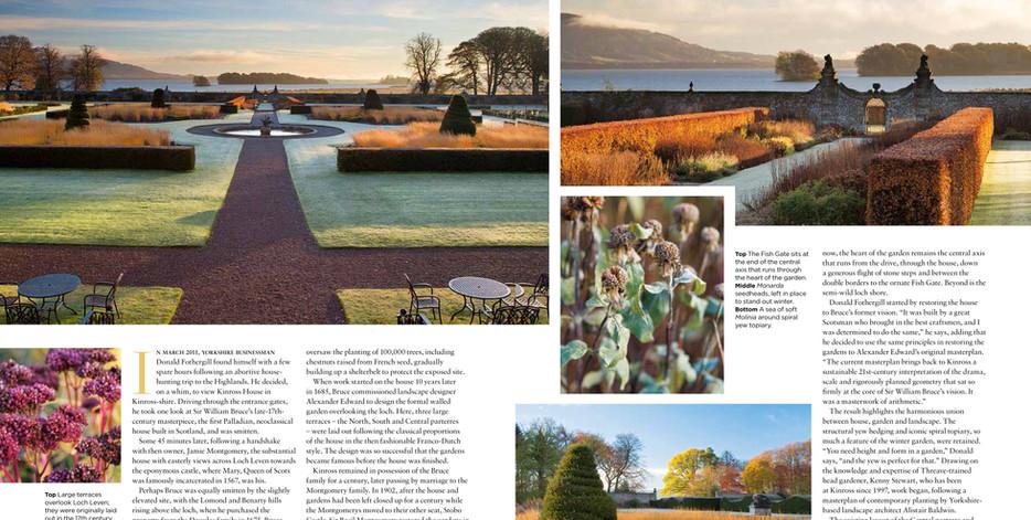 Kinross House Garden, designed by Alistair Baldwin, The English Garden Magazine, Page 2