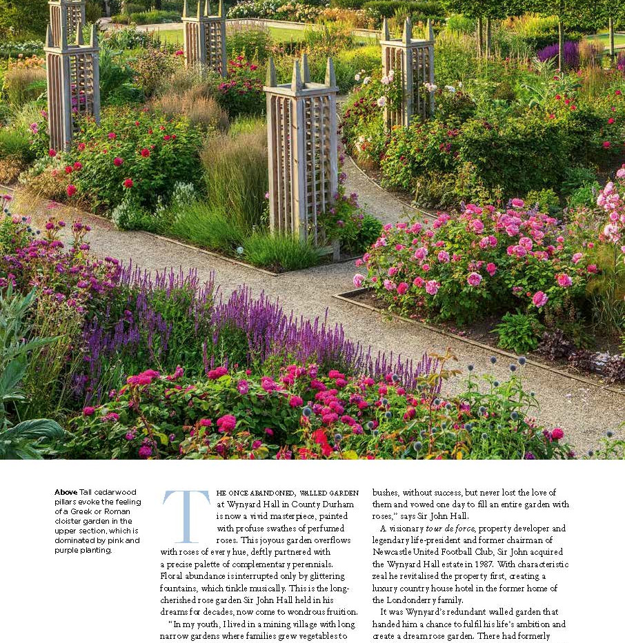 Wynyard Hall Rose Garden, designed by Alistair Baldwin, The English Garden Magazine, Page 3