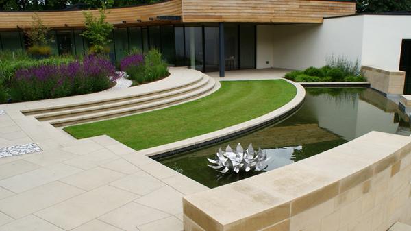 Contemporary Roof Garden