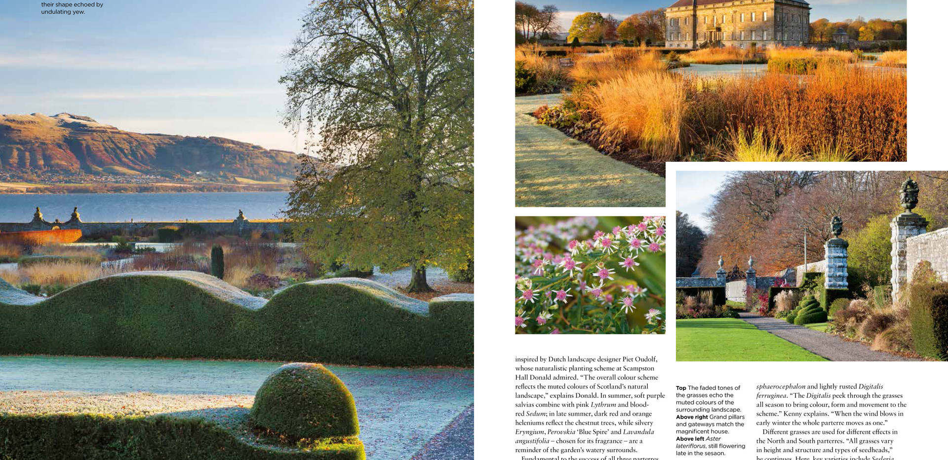 Kinross House Garden, designed by Alistair Baldwin, The English Garden Magazine, Page 3