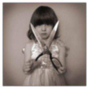 shears, cutting, child