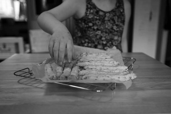 Cheese straws - Week 2