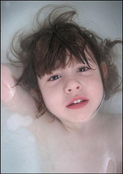 bath, water, bathing, child