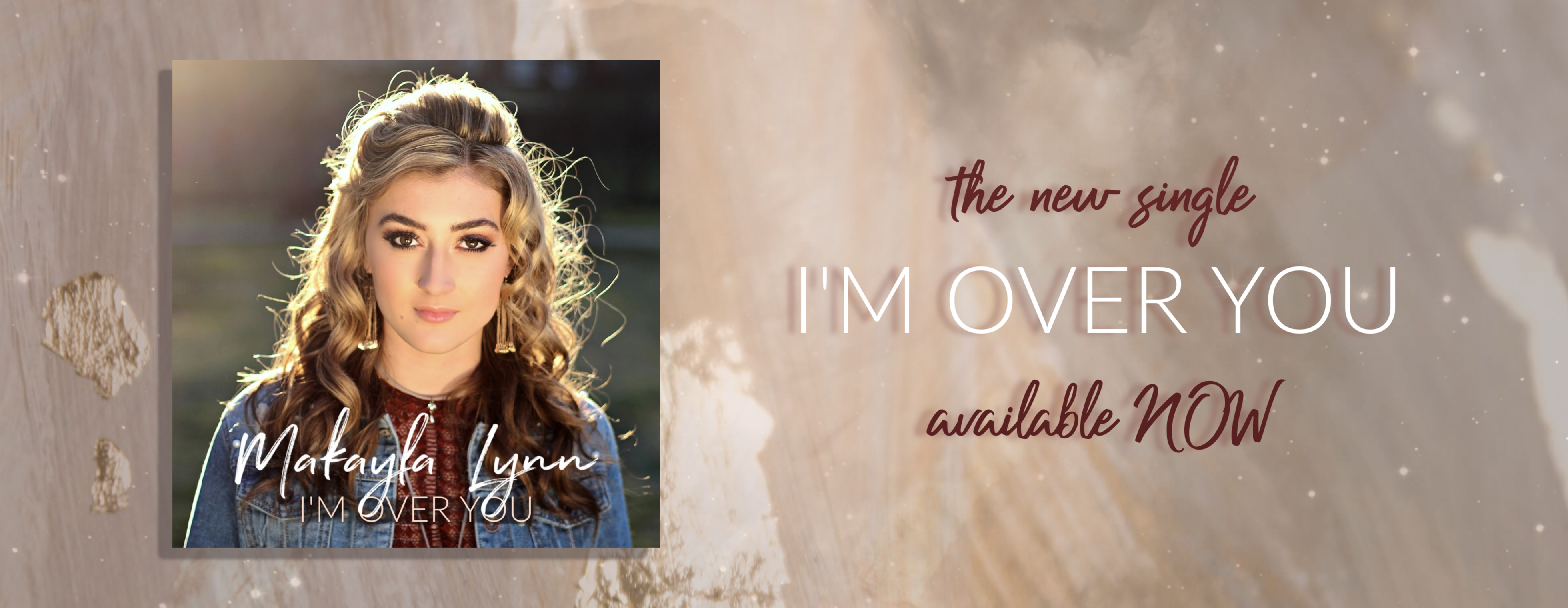 I'm Over You - Web Billboard 3920 x 1720