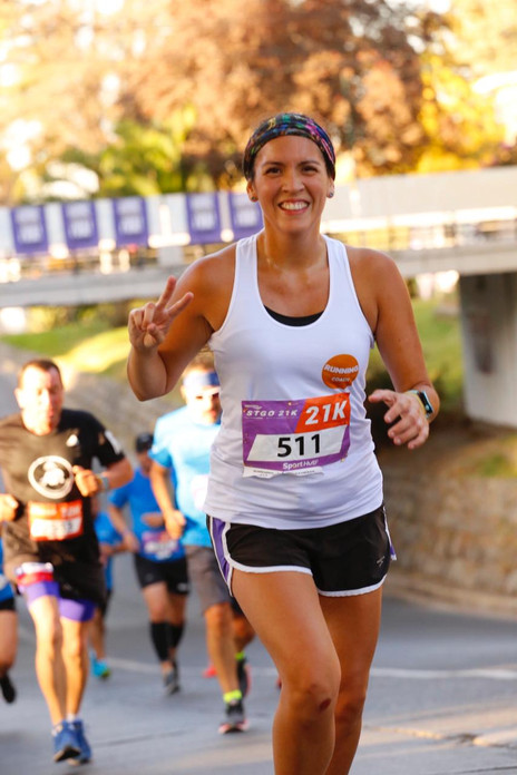 """Natalia Rodríguez: """"Mi primer objetivo era lograr correr 21K, y lo hice"""""""