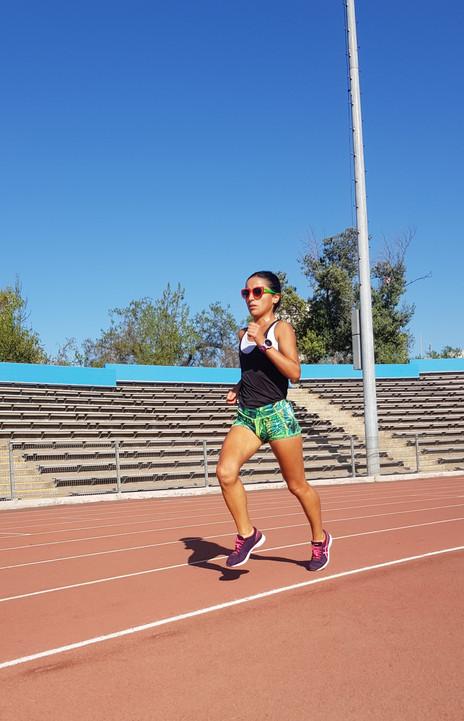 Entrenamiento de velocidad para corredoras