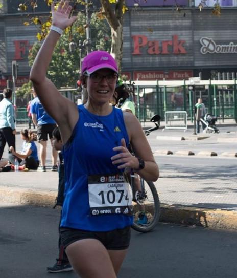 """Catalina Guzmán: """"Correr mi primera maratón era mi gran sueño"""""""